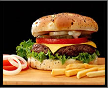 burger meni item