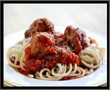 pasta menu item